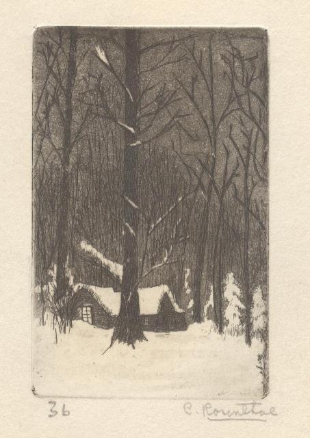 First Etching of Charles Rosenthal 1936