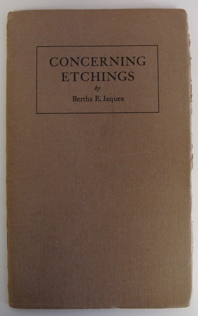 concerning etchings by bertha jaques